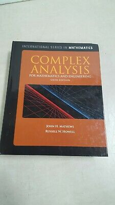 Complex Analysis for Mathematics and Engineering (International Series) 6th Ed