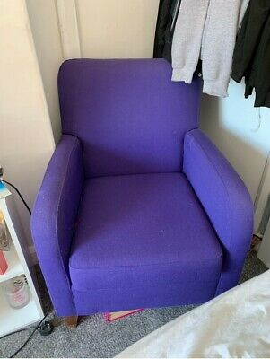 Purple Armchair, Arm Chair,