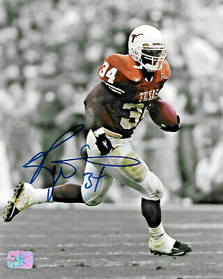 Ricky Williams Signed 8x10 Photo Texas Longhorns PLAYER OFFICIAL HOLOGRAM COA