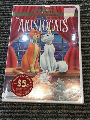 Walt Disney The Aristocats (DVD, 2000, Gold Collection) NEW SEALED 1964