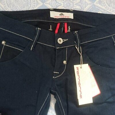 Jeans slim femme a bretelles FORNARINA TAILLE W 30 T 40