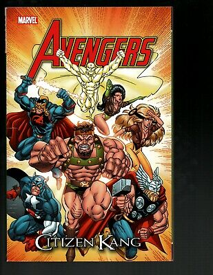 AVENGERS CITIZEN KANG MARVEL SC GN TPB 90/'S STORY FANTASTIC FOUR NEW