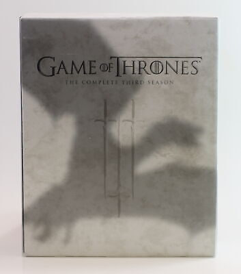 Game Of Thrones Complete Third Season Blu-Ray And Dvd Bundle