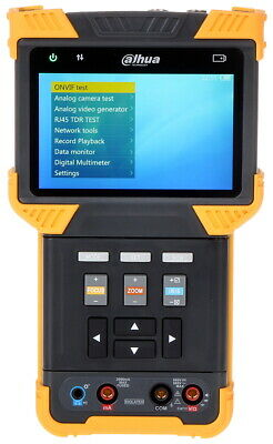 "Dahua Pfm900-E Cctv Test Monitor Ip & Analogue 4"" Lcd Screen Video Tester"