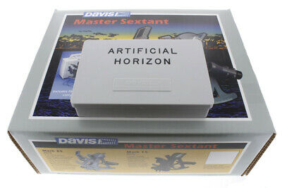 Davis Mark 25 Sextant Bundle with Artificial Horizon (2 Items)