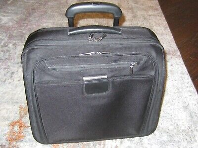 "BRIGGS & RILEY 15"" Rolling Briefcase TravelWare KR305 + Laptop Computer Sleeve"