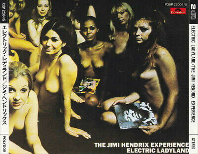 The Jimi Hendrix Experience Electric Ladyland Japanese Rare 2Cd Oop P36P 22004/5