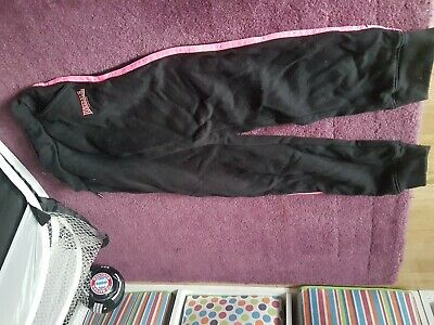 Lonsdale Girls Tracksuit Bottoms 7-8yrs