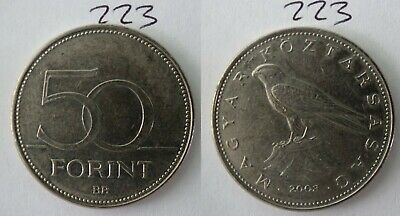 2003 Hungary 50 Forint Hungarian Old Coin 223