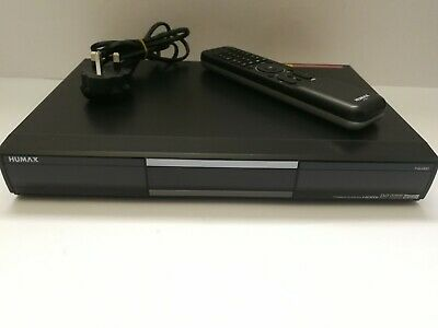 Humax PVR-9300T - Freeview Tuner / TV Recorder - Original Remote Included