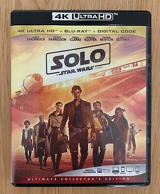 Bluray Solo: A Star Wars Story - Comme neuf - Pas 4K