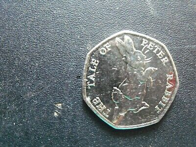 50p Coin 2017 The Tale Of Peter Rabbit