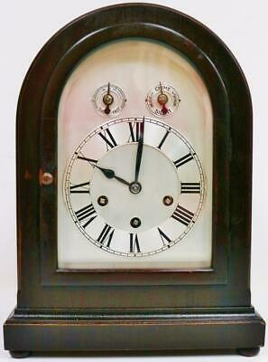 Antique German 8 Day Domed Top Musical Clock Westminster Chime Bracket Clock