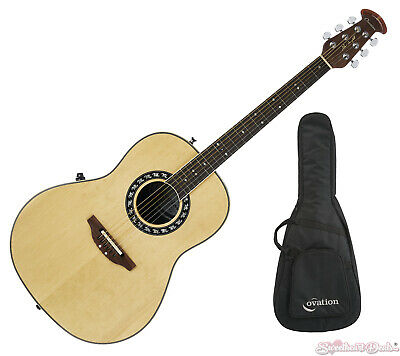 OVATION 1627VL-4 VINTAGE Lyrachord Shallow Bowl Acoustic-Electric