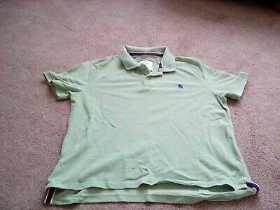 joules mens green polo shirt size xxl ex condition