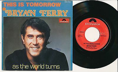 "Bryan Ferry 45 Tours 7"" Belgium This Is Tomorrow"