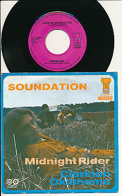 "Soundation 45 Tours 7"" Hollande Clarkton Oklahoma Usa"