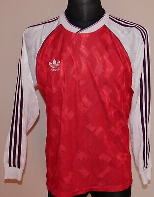 Vintage ADIDAS Shirt WEST GERMANY STYLE Jersey RETRO 90s maybe ARSENAL 1990-92