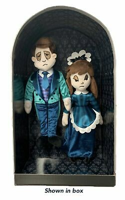 Disney Haunted Mansion 50th Ghost Host & Hostess Boxed Plush Set AP Ex Presale