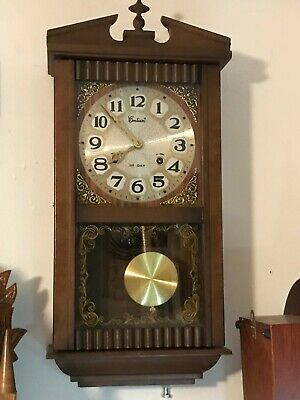 Centurion Regulator 35 Day Wind-Up Chime Wall Clock, Model 699 Kb