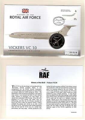 Westminster Coin Cover History of the RAF - Vickers VC 10