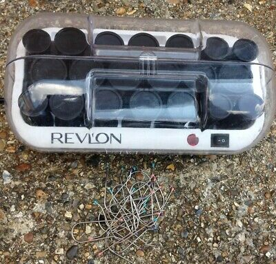Revlon 20 Professional Heated Hair Rollers Curlers