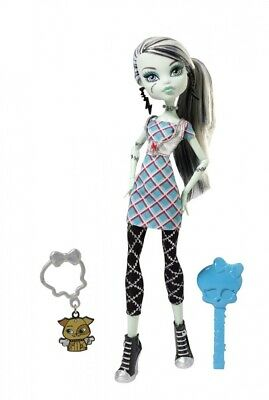Monster High Classrooms Frankie Stein Doll Multi-Coloured. Mattel. Best Price
