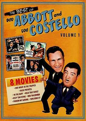 Best of Bud Abbott and Lou Costello, Vol. 1 (DVD)  4-Disc Set) NEW ~ SHIPS FREE
