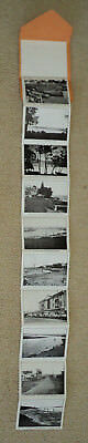 Vintage Glimpses of The Entrance NSW published by JC HALL souvenir fold out card