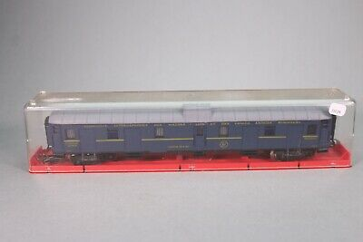 ZJ128 JOUEF Wagon Ho Fourgon a bagages CIWL 1247 bogies longueur 225 mm
