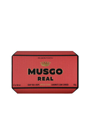 Musgo Real Mens Body Shower Wash Soap on A Rope Spiced Citrus Scent 190g