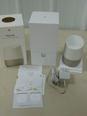 Google Home Voice-Activated Speaker By Google - (Eb10)