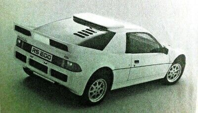 FORD RS200 Introductory Article & FORD RS TURBO Road Test from Motor Sport