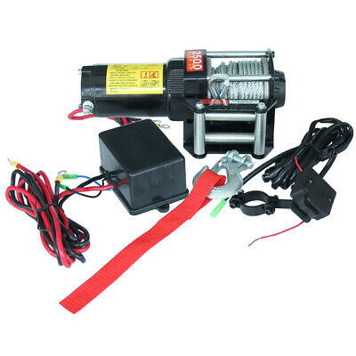 Electric Winch, 2500lb ATV, 4WD  Winch, Truck Winch 24 v, With Remotes