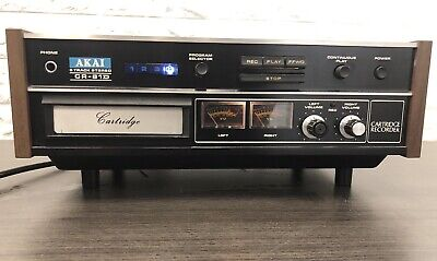 AKAI CR-81D Stereo 8-Track Recording Deck TLC needed