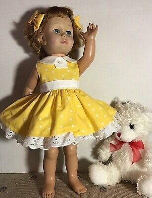 Gabby Gabby Dress To Fit CHATTY CATHY 19-20 Inch (HOMEMADE Clothes)