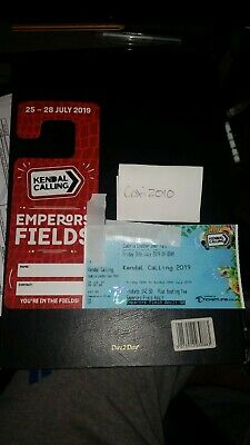 Kendal Calling 2019 Emperors Field Adult Ticket x 1 (park pass inc) SOLD OUT