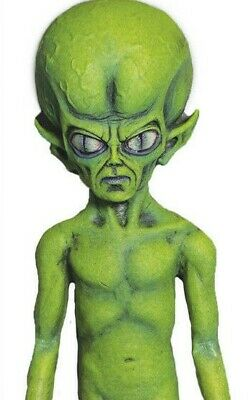 4',Green Martian,Alien,Prop,Roswell,UFO,Extraterrestrial,Green,Grey,Aliens,Paul