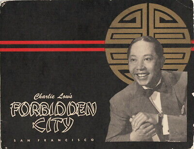 CHARLIE LOW'S~FORBIDDEN CITY SOUVENIR PHOTO~SAN FRANCISCO, CALIFORNIA~c.-1940