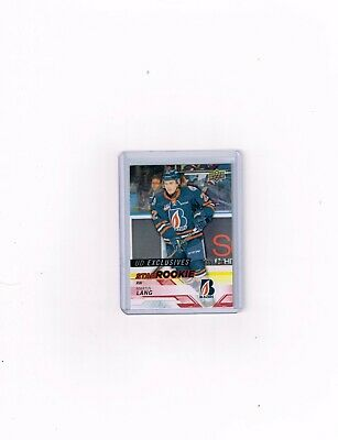2018-19 Upper Deck Chl Hockey Ud Exclusives Card Of Martin Lang # 035/100