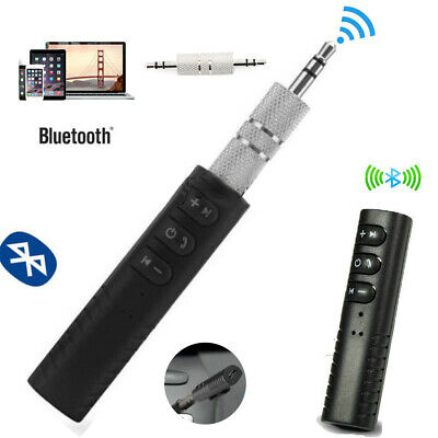 Bluetooth V5.0 Transmitter Receiver Wireless AUX Audio Music 3.5mm Adapter MINI