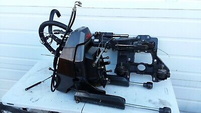 OMC Cobra Transom Assembly With Steering And trim Rams-Freshwater part