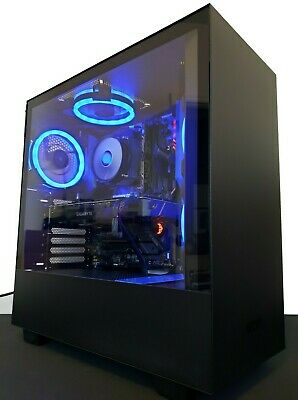 H500 BLACK GAMING PC Intel i7 9700k 4 9Ghz RTX 2070 Custom