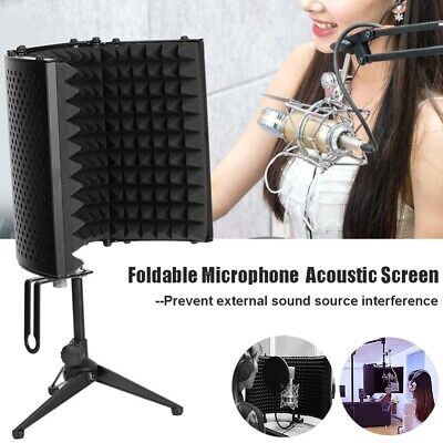 Folding Soundproof Cover Microphone Sponge Wind Screen Noise Reduction Board