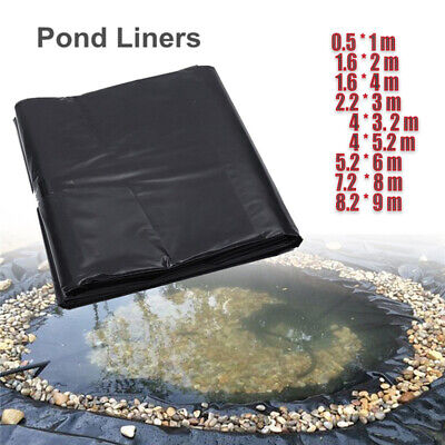 5'x10' HDPE Pond Liner Landscaping Garden Pool Waterproof Liner Heavy Duty  UK