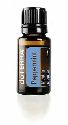 doTERRA Peppermint Essential Oil 15ml New Sealed Expires 2023