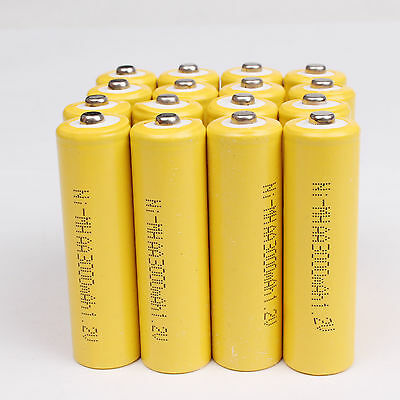 Wholesale 1~36PCS AA 3000mAh 1.2V Ni-MH Rechargeable Battery for Cell RC Toy New