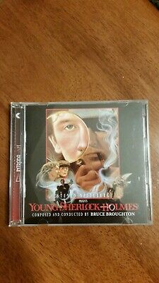 Young Sherlock Holmes Soundtrack by Bruce Broughton Intrada 2 Disc Set 2014