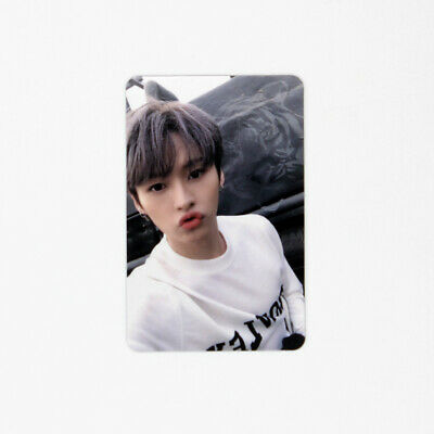 [STRAY KIDS]Cle 2:Yellow Wood/Side Effects/Official Photocard/Outdoor-LEEKNOW