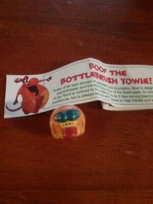 Boof Yowie with papers